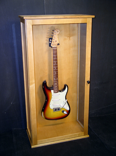 Guitar Display Cabinet Plans