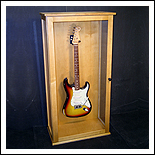 Guitar Display Case-Floor Model - click for details