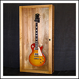 Guitar Display Case-Wall Model - click for details